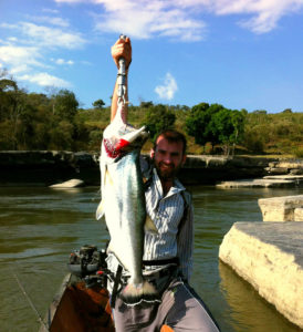 pesca deportiva en la macarena