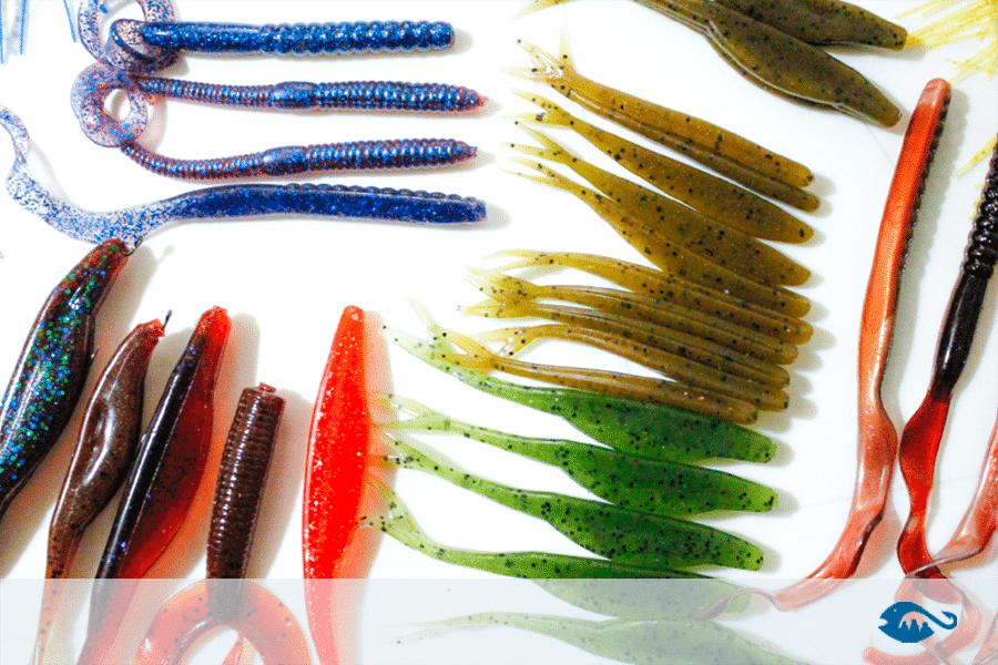 señuelos de pesca blandos sofbaits