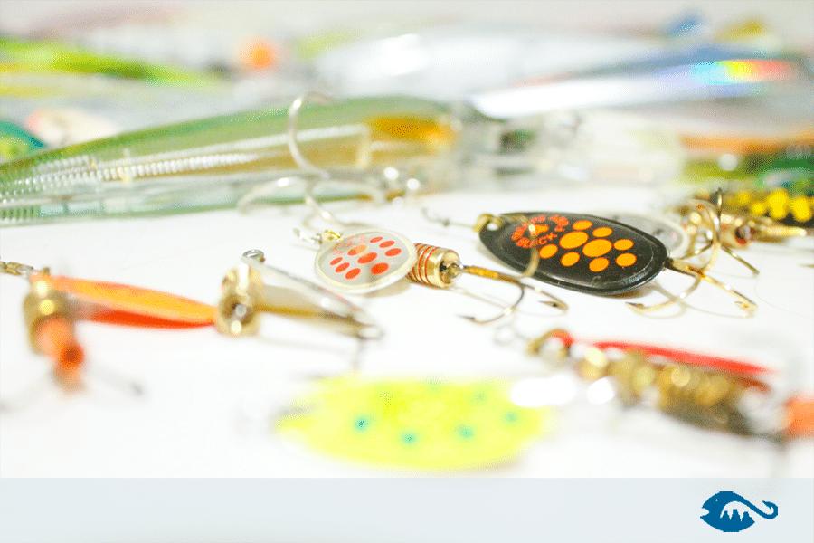 señuelos cucharas y mariposas
