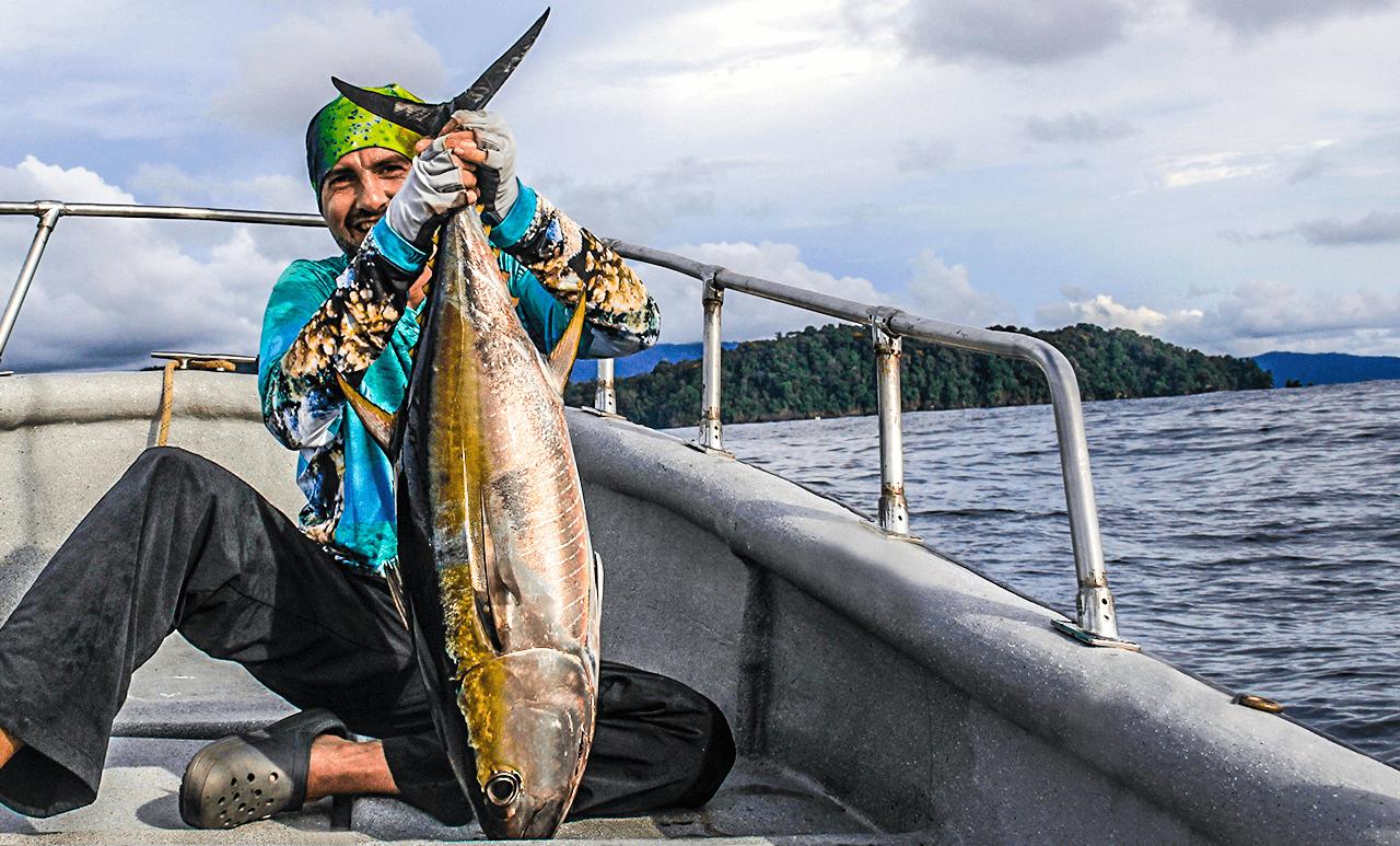 pesca salvaje